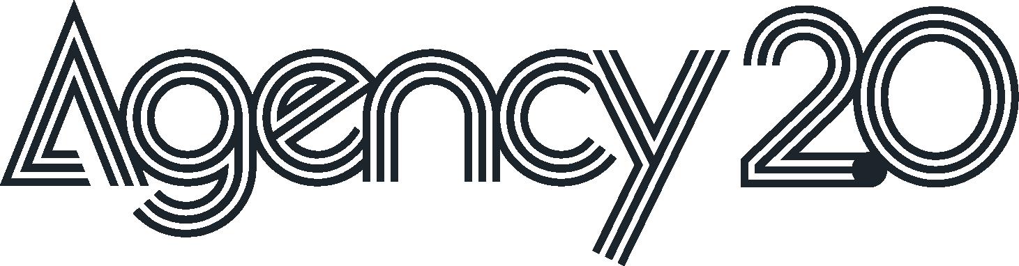 Agency 2.0 Logo Black