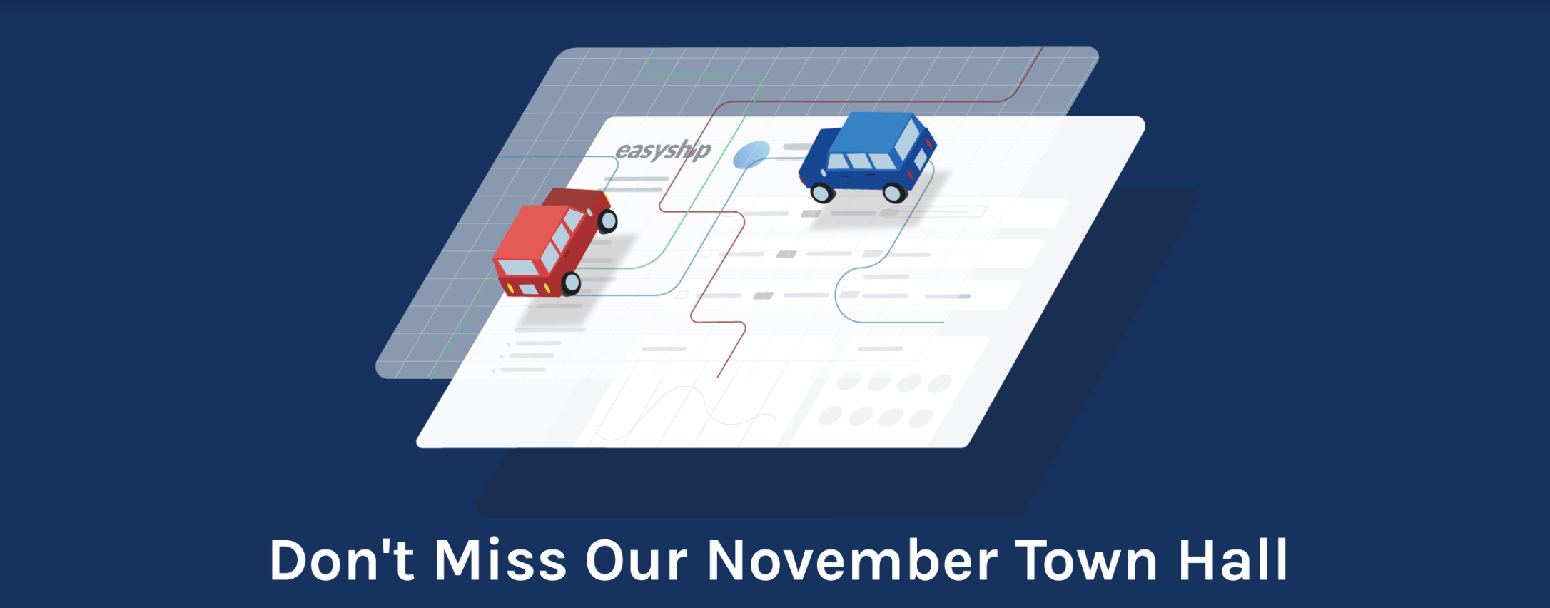November Product Update: Easyship Town Hall