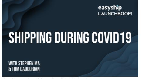 Launchboom x Easyship