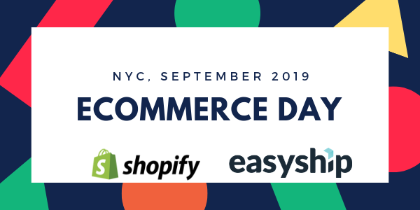 eCommerce Day NYC with Shopify Plus