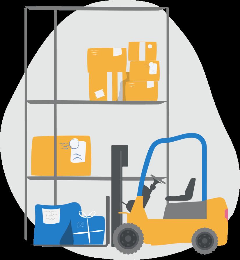 Warehouse Pillars Banner Logo